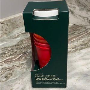 🌨❄️⛄️ Starbucks hot reusable cups